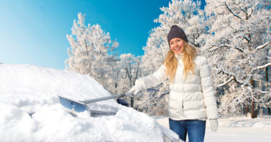 KUNGS Schneeschieber Action
