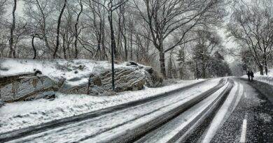 Bremsen im Winter